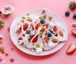 酸奶水果脆片-丘比草莓果酱的做法