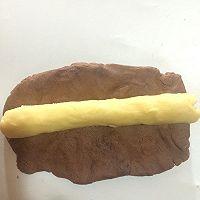 黄油可可曲奇饼干# 百吉福芝士力量#的做法图解8