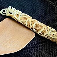 #植物蛋 美味尝鲜记#JUST土豆蕾丝卷的做法图解9