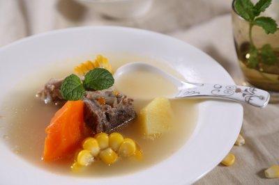 自动烹饪锅简单做ABC汤