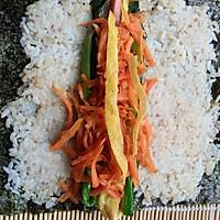 咸味紫菜包饭的做法图解5