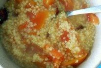 红枣木瓜小米粥的做法