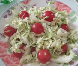 沙拉果蔬的做法