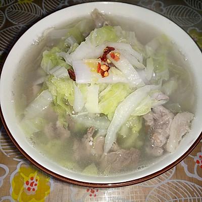 白菜粉条羊肉汤