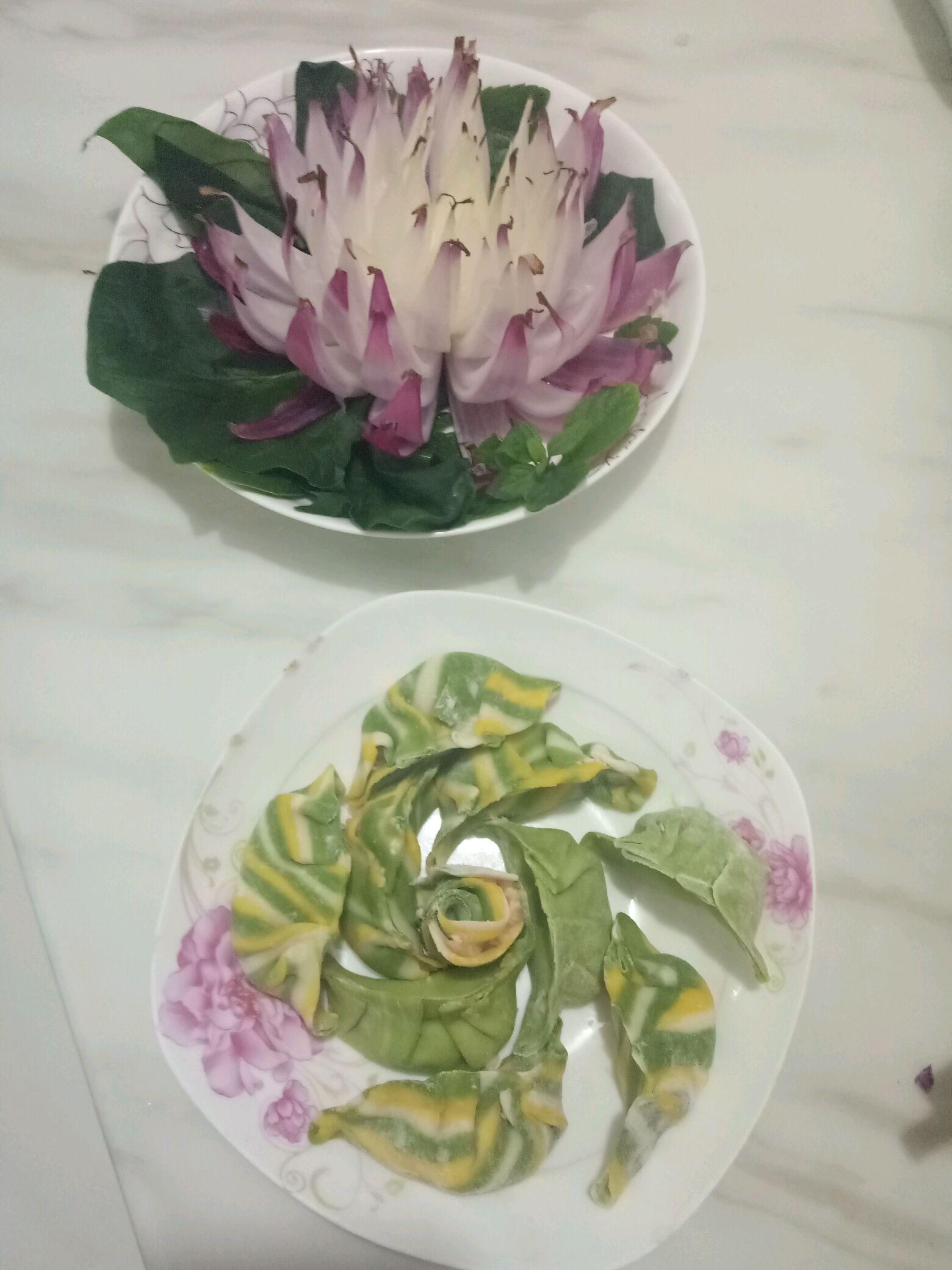 洋葱莲花的做法图解5