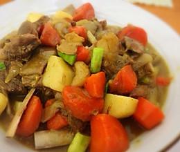 咖喱羊肉的做法