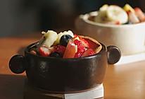 #换着花样吃早餐#高颜值的酸奶水果荷兰宝贝的做法