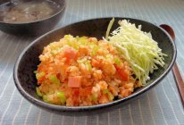 双茄烩饭的做法
