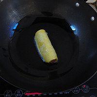 我一个人吃饭~吐司火腿蛋卷~的做法图解6