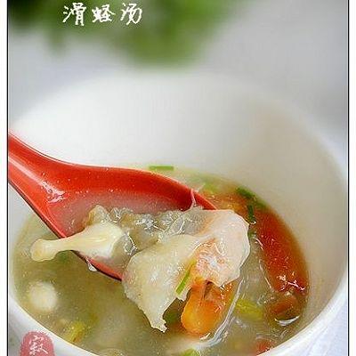 酸笋丝滑蛏汤----福建本地特色汤羹