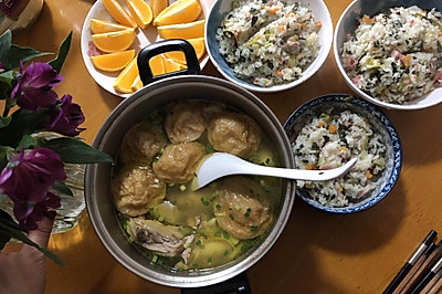 焖香咸肉菜饭