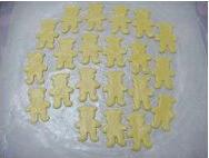 小熊杏仁饼干的做法图解8