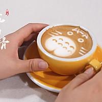 龙猫拉花 咖啡