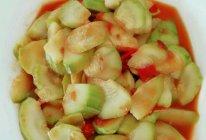 西红柿炒西葫芦片的做法