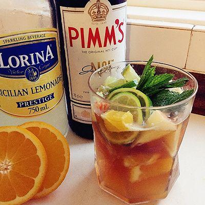 PIMM'S-英国夏日水果鸡尾酒