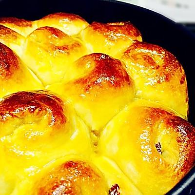烤箱试用(七)核桃红枣面包