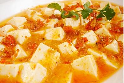 好蟹汇美食——熏蟹粉豆腐