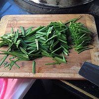 韭菜猪肝的做法图解2