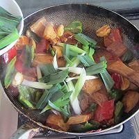 香干回锅肉的做法图解11