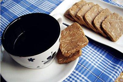巧克力杏仁饼干【65%可可脂的浓情】