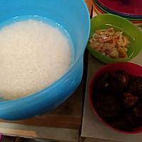 生炒糯米饭的做法图解1