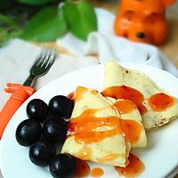 十分钟打造健康早餐鸡蛋饼#特百惠理家课堂#的做法图解12