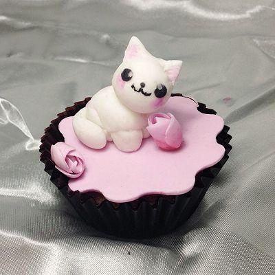 翻糖喵蛋糕详细步骤