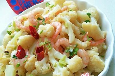 北极虾仁花菜