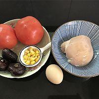 #春季减肥,边吃边瘦#番茄鸡肉丸的做法图解1