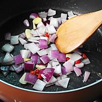 西兰花香菇炒培根的做法图解8