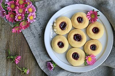 蓝莓果酱小饼干