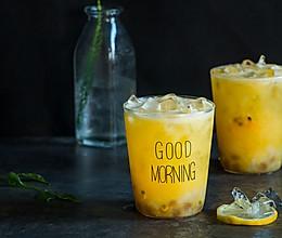 百香果橙汁也可以加些料的做法