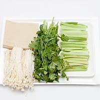 豆腐皮烤菜卷的做法图解1