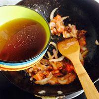 榛蘑西红柿疙瘩汤~暖暖的都是爱的做法图解4