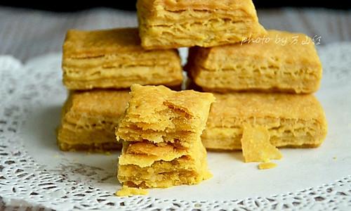 咸蛋黄饼干#厉害了我的零食#的做法