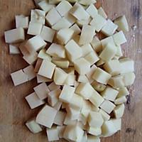 小白菜熬土豆的做法图解2