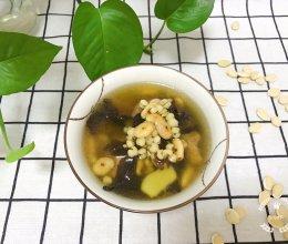 三花炒薏米扁豆煲猪腱肉-止痕祛湿的做法
