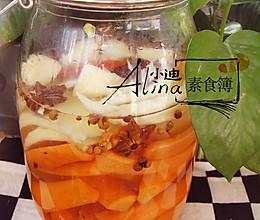 自制酸辣泡菜(传统中式腌制)的做法