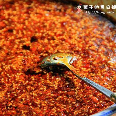辣椒油(独家秘方)