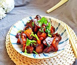 #憋在家里吃什么#简单好吃的红烧肉的做法