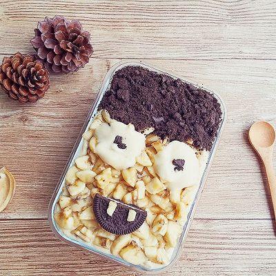 The King 国王蛋糕 巧克力香蕉冰盒子蛋糕