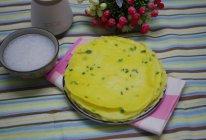 葱花鸡蛋饼的做法