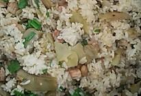 扁豆肉饭的做法
