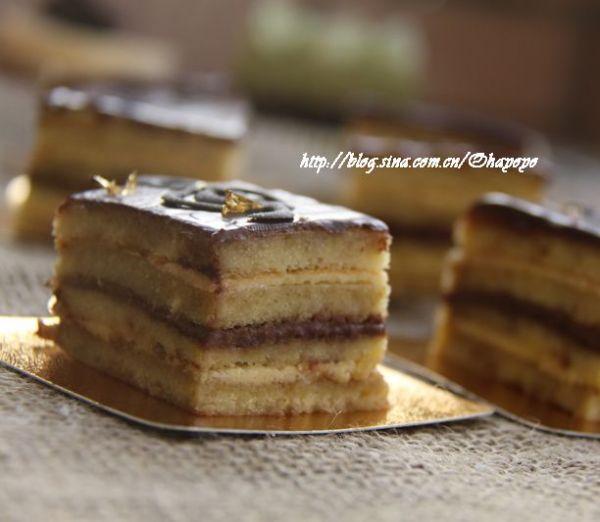 Opera歌剧蛋糕的做法