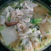 减肥美味餐-冬瓜香菇鸡胸肉虾皮面汤的做法图解10