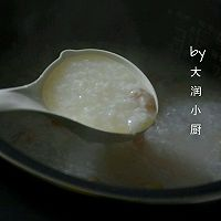 快手鸡丝香菇粥#急速早餐#的做法图解7