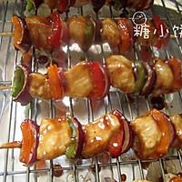 【彩椒鸡肉烤串】的做法图解6