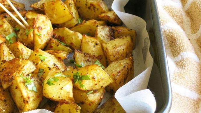 追剧零食——烤薯角