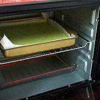 绿茶彩绘蛋糕卷#九阳烘焙剧场#的做法图解16
