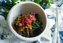 清热利湿#红苋菜凉拌蕨根粉#的做法